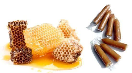 Свечи из мёда с прополисом