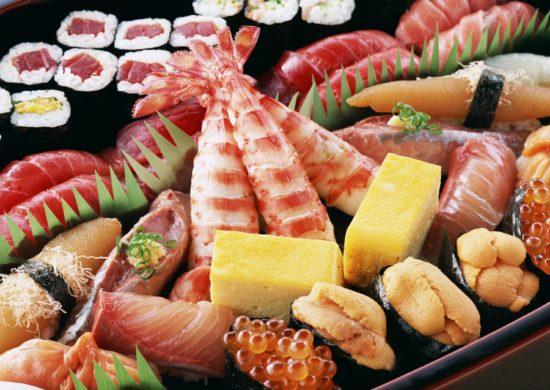 Разнообразные морепродукты