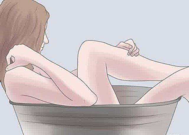 Ванную можно приготовить также на основе листьев растения