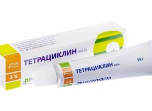 Как применяют Тетрациклин при геморрое?