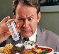 Соленная и острая пища