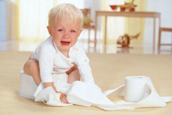Может ли быть геморрой у двухлетнего ребёнка