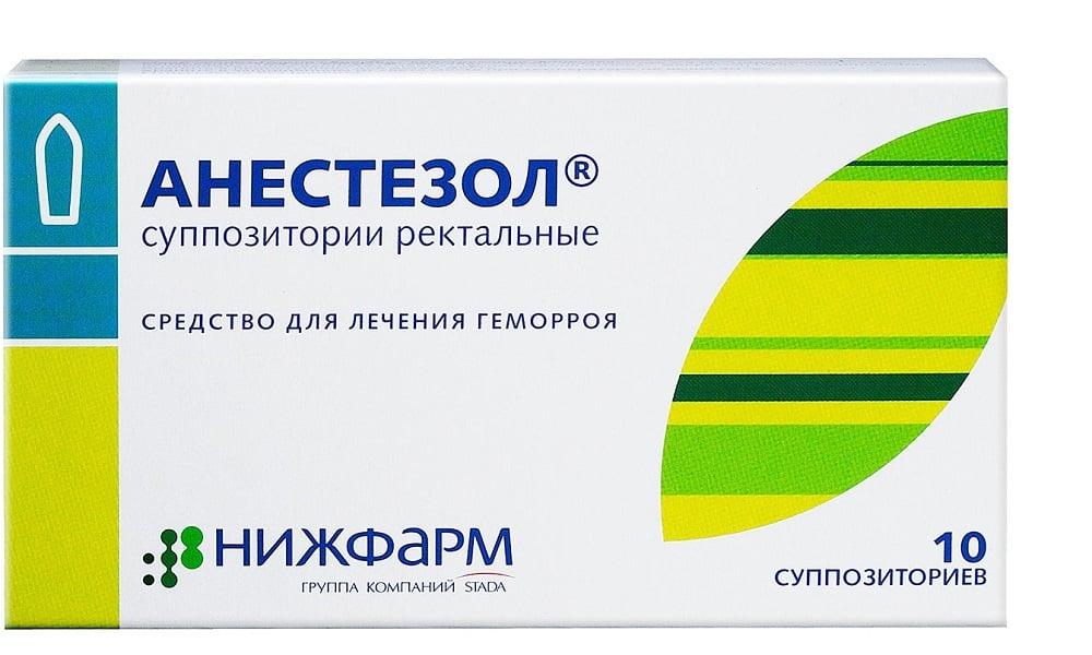 Анестезол применяют когда болит поясница при геморрое