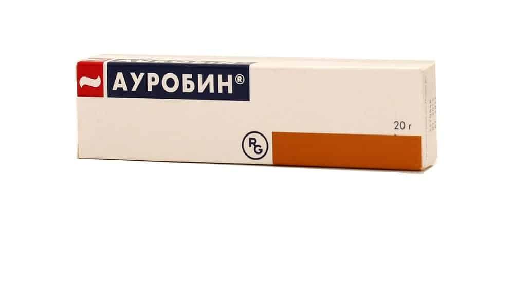 Ауробин — обладает антибактериальным и обезболивающим действием