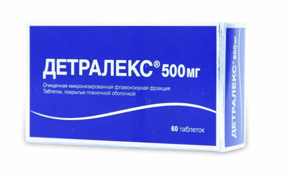Детралекс используется для улучшения состояния сосудов при остром и хроническом течении заболевания