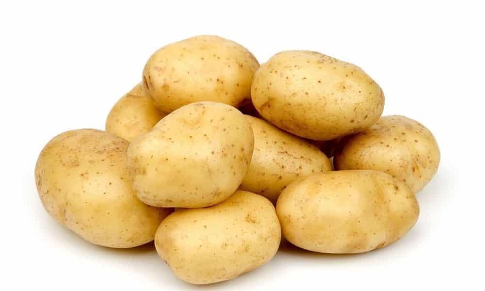 Удобно использовать для процедуры картофель