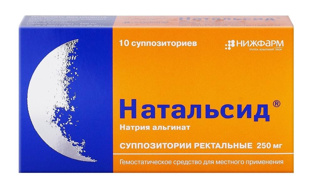 Натальсид оказывает репаративное, гемостатическое действие, подавляет развитие воспаления