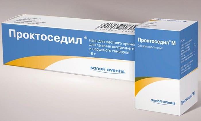 Проктоседил применяется для устранения воспаления, зуда и болей. Эти суппозитории можно использовать при комплексном лечении геморроя