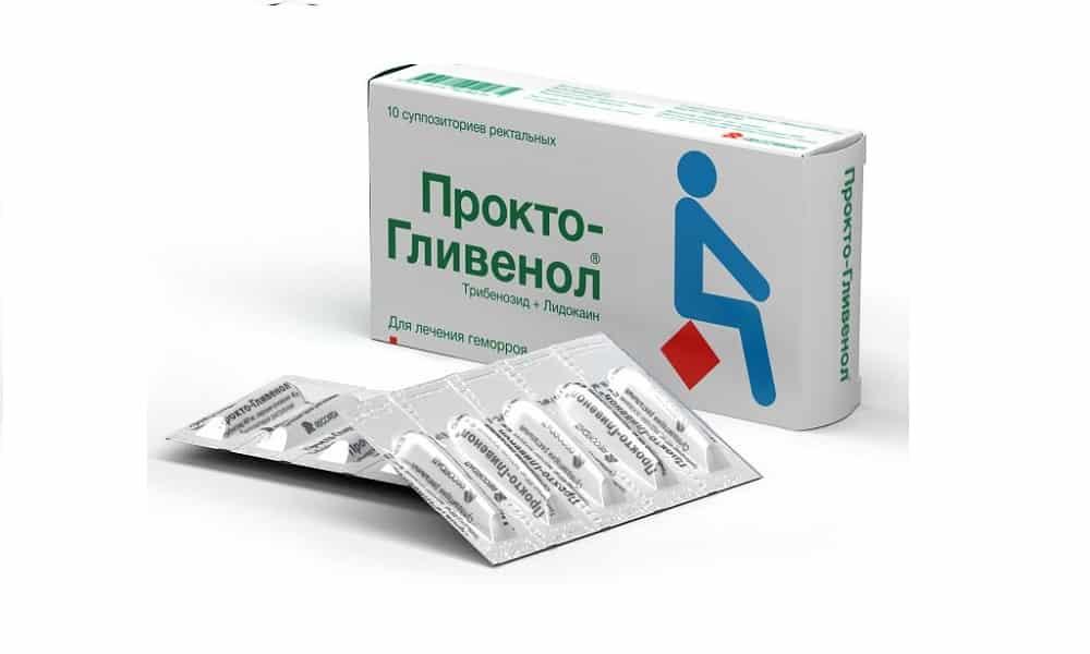 Прокто-гливенол устраняет боль, зуд и жжение