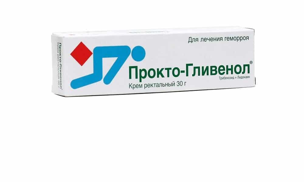 Прокто-Гливенол применяется для лечения геморроя