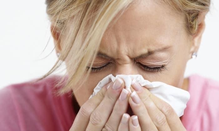 При употреблении имбирь может вызвать аллергию