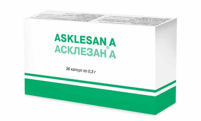 Положительно влияют на состояние вен также таблетки, например, Асклезан А