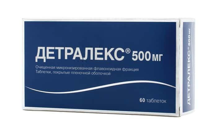 Детралекс оказывает венотоническое и ангиопротекторное действие, уменьшает растяжимость вен и веностаз, улучшает микроциркуляцию крови