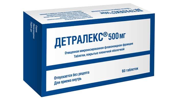 Из таблеток в период беременности можно использовать Детралекс