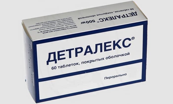 Детралекс может использоваться для длительной терапии