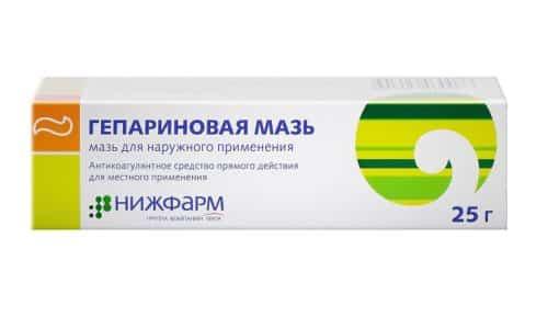Среди отечественных препаратов для лечения воспаления геморроидальных шишек особо широко используется гепариновая мазь