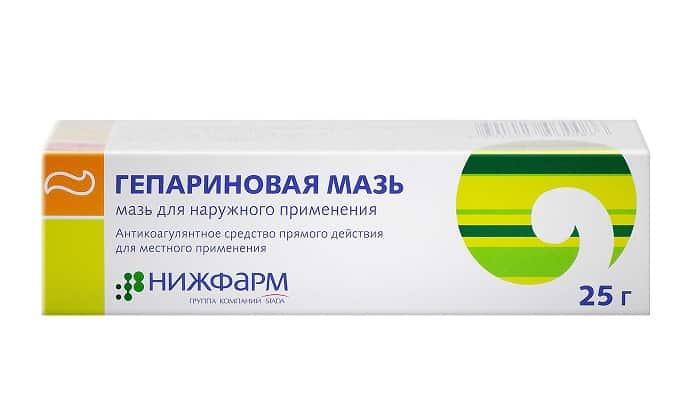 Гепариновая мазь способствует разжижению крови и предотвращает формирование тромбов