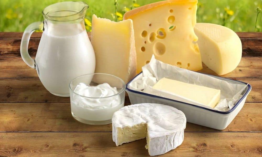 В рацион питания должны входить молочные продукты