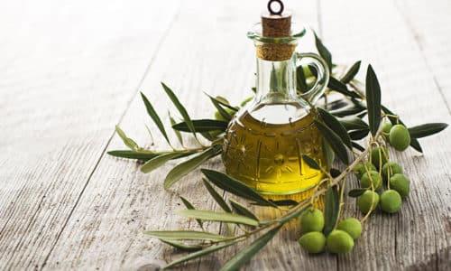Для клизьмы можно взять оливковое масло