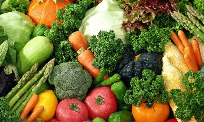 Свежие овощи исключают из рациона