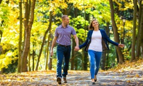 Нормализации кровообращения способствует регулярные прогулки