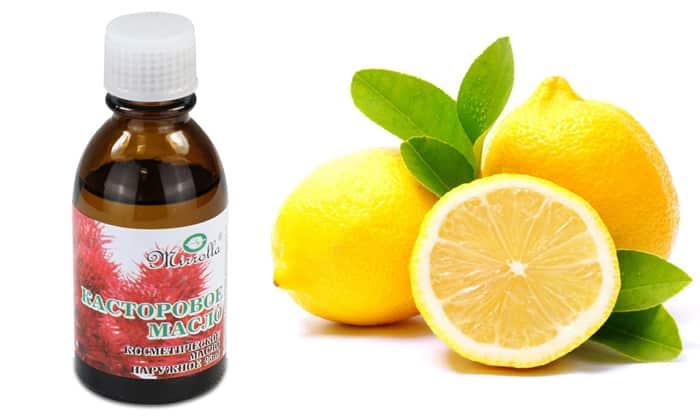 Совместимость Касторового масла и лимона