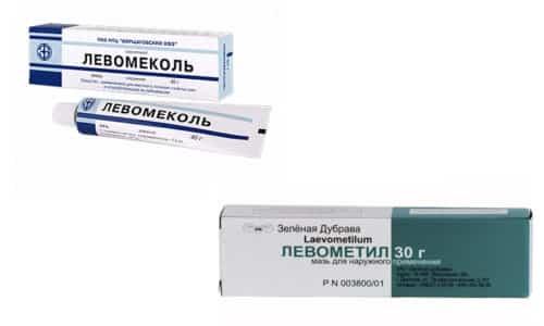 Левометил и Левомеколь - препараты антибактериального спектра действия с противовоспалительным эффектом